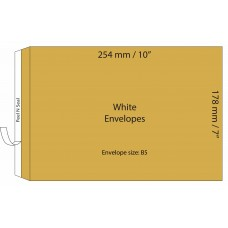 "Manilla Envelopes 178x254mm (7"" x 10"") / 50pcs"