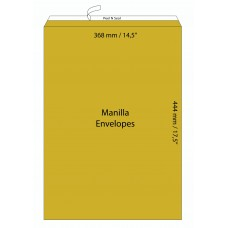 "Manilla Envelopes 368X444 mm (14.5"" X 17.5"")  / 50pcs"