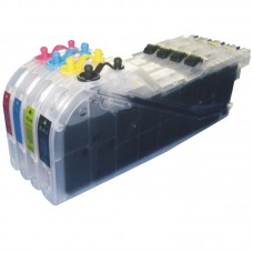 BIG Refillable Brother LC101 LC103 LC105 LC107  Cartridges