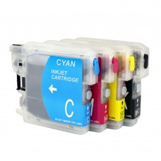 SMALL Refillable Brother LC101 LC103 LC105 LC107  Cartridges