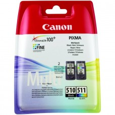 Canon PG-510/CL-511 Black & Colour Ink Cartridges / 2970B010