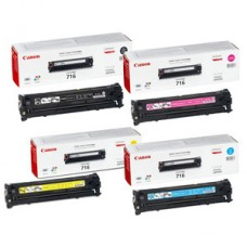 Canon 716 Original Toner Cartridge Multipack / BLACK, CYAN, MAGENTA, YELLOW