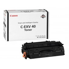 Canon C-EXV 40 Original Black Toner Cartridge for iR 1133 Series / 3480B006AA