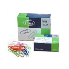 Class Colored Paper Clips 33mm / 100pcs