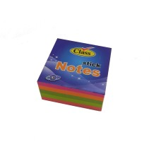 Class Sticky Notes 400 Sheets NEON / 76 x 76mm