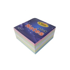 Class Sticky Notes 400 Sheets PASTEL / 76 x 76mm