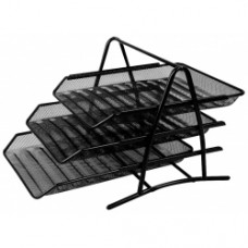 Metal Mesh Document Tray 3 Tier