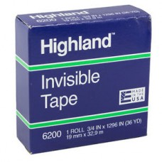 Highland Invisible Tape 19mm x 36Y