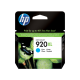 HP 920XL High Yield Cyan Original Ink Cartridge / CD972AE