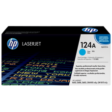 HP 124A Cyan LaserJet Toner Cartridge / Q6001A
