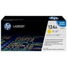 HP 124A Yellow LaserJet Toner Cartridge / Q6002A