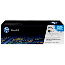 HP 125A Black LaserJet Toner Cartridge / CB540A