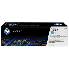 HP 128A Cyan LaserJet Toner Cartridge /  CE321A