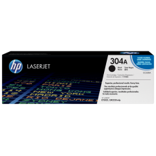 HP 304A Black LaserJet Toner Cartridge / CC530A