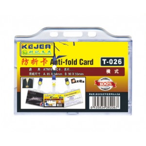 Kejea Anti-fold Card Holder T-026H / 5 pcs