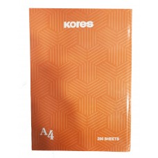 Kores Notebook With Hard Cover / A4 (200 Sheets)