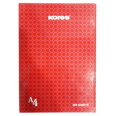 Kores Notebook With Hard Cover / A4 (300 Sheets)