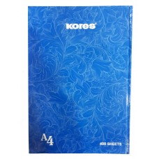 Kores Notebook With Hard Cover / A4 (400 Sheets)