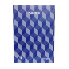 Kores Notebook With Hard Cover / A4 (100 Sheets)
