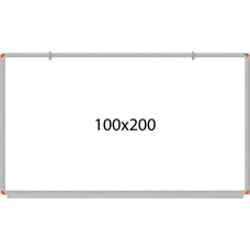 PandaPano - Wall Mounted Laminated Whiteboard 100X200cm