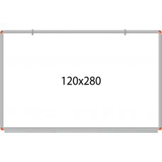 PandaPano - Wall Mounted Laminated Whiteboard 120X280cm