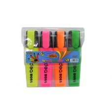 Plus Idea Boss Highlighters / 4pcs
