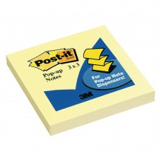 "Post-it Pop-Up Notes 3"" x 3"" Canary Yellow"