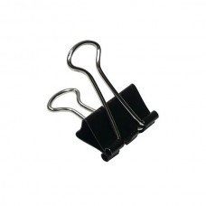 Binder Clips 19mm (Black) / 12pcs