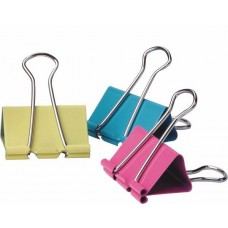Binder Clips 41mm (Colored) / 24pcs
