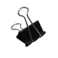 Binder Clips 32mm (Black) / 12pcs