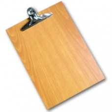 Wooden Clip Board A4 Size