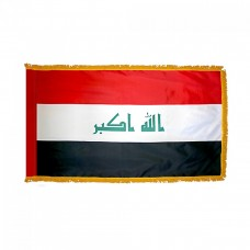 Single Fringed Large Flag / 1400 x 900mm