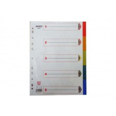 Colored Index Page Divider / A4