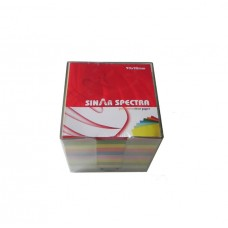 Sinar Spectra Square Memo Cube With Plastic Case
