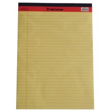 SinarLine Legal Pad Yellow A4