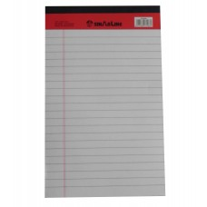 "SinarLine Legal Pad White 5"" x 8"""