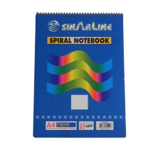 SinarLine Spiral Notebook A4